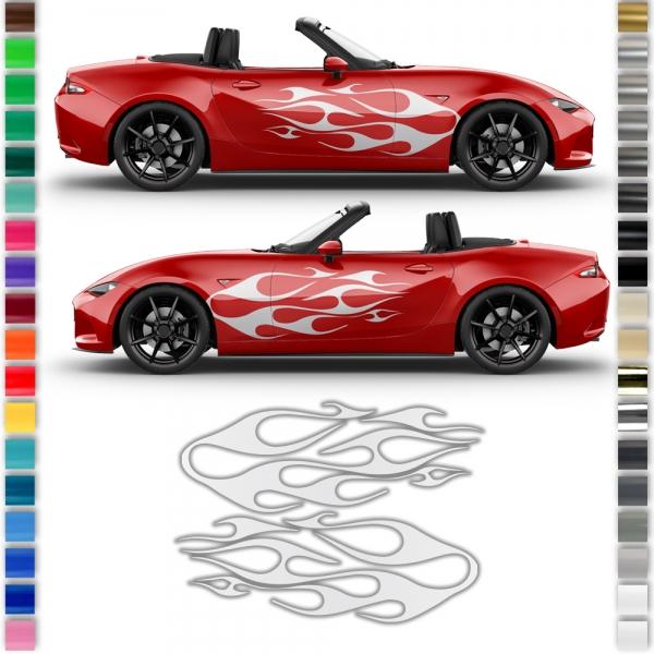 Auto-Dress® Seiten-Streifen Aufkleber...