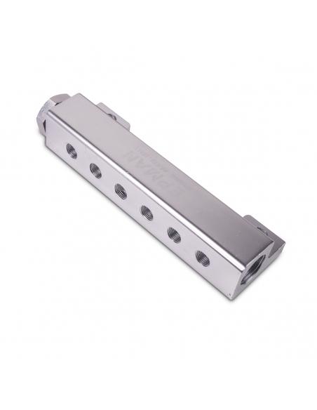 Vakuum- Unterdruck- Ladedruck-Verteiler in Silber