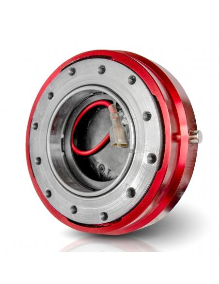 Snap Off Lenkrad Schnellverschluss von Auto-Dress in Rot