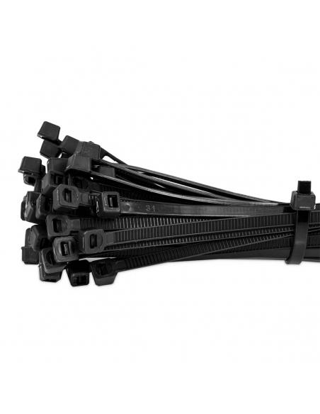200x Kabelbinder - 2,5 x 100mm