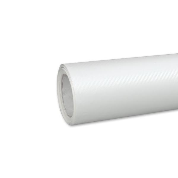 Carbon Autofolie - Weiß