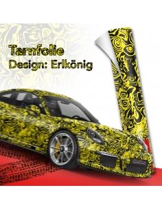 Erlkönig Gelb Autofolie,...