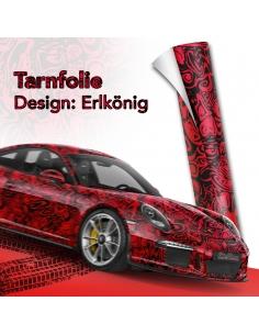Erlkönig Rot Autofolie, Car...