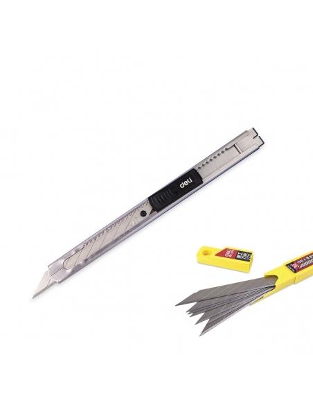 Edelstahl Cuttermesser und Klingen von Deli - SK5 30° 9mm